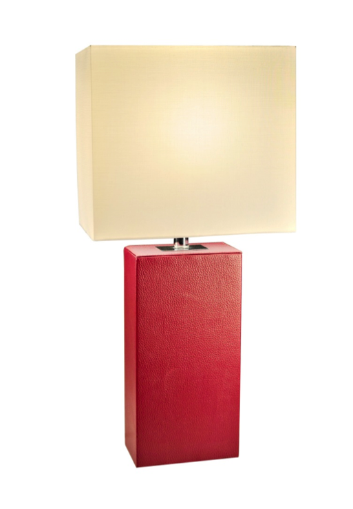 Amazing Pic Pic. Elegant Designs Modern Leather Table Lamp