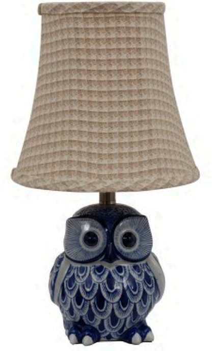 Simple Designs Owl Table Lamp